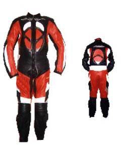 BL-1020 Leather Motorbike Suit