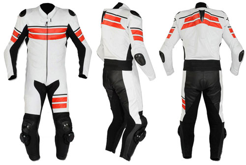 BL-1008 Leather Motorbike Suit