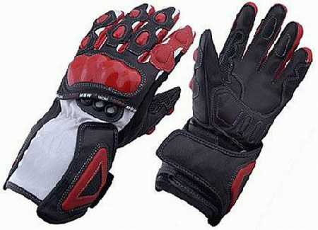 BL-5112 Leather Motorbike Gloves